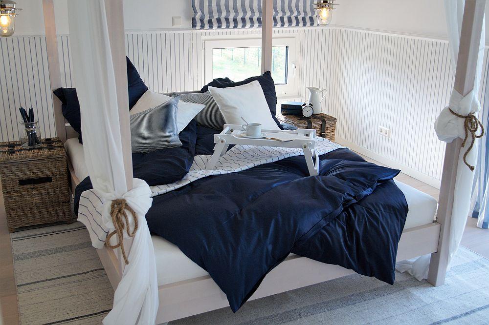 Schlafzimmer im OKAL Musterhaus Werder